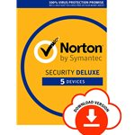 Norton Security 3.0 Deluxe 1 User 5 Dispositivos 1 ano