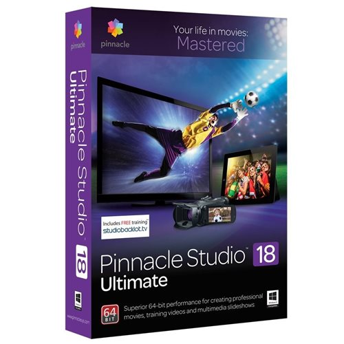 Pinnacle Studio 18 Ultimate Inglês Windows