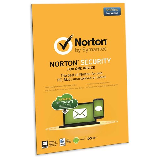 Norton Security 2.0 PT 1 User 1 Dispositivos 1 Ano