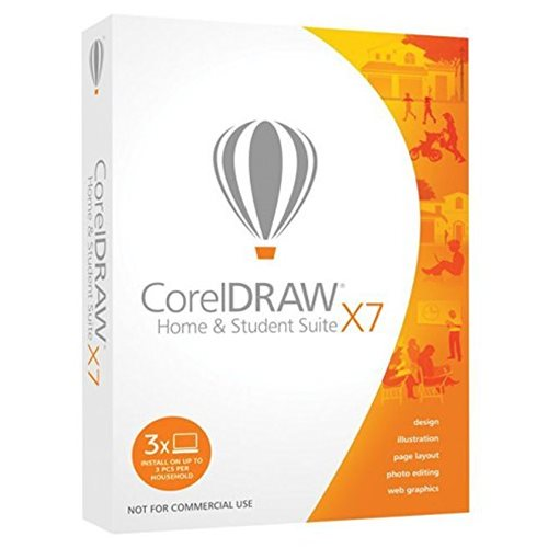 Corel Draw X7 Home and Student Inglês Windows