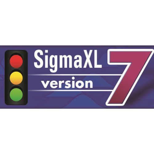 SigmaXL v7 Commercial 1 User License (PC and Mac)
