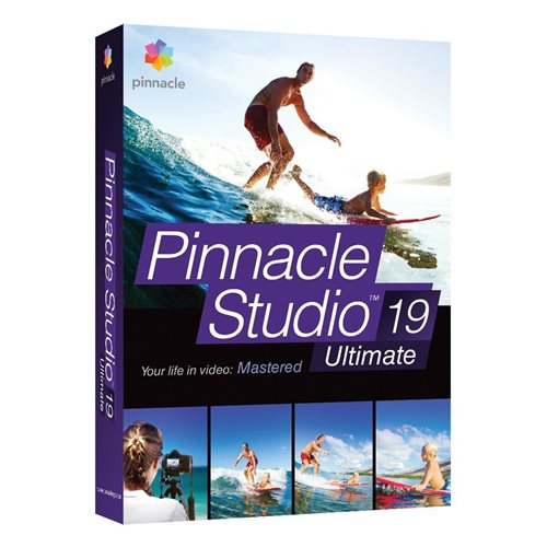 Pinnacle Studio 19 Ultimate Inglês Windows