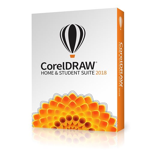 Corel Draw 2018 Home & Student PT/BR DVD