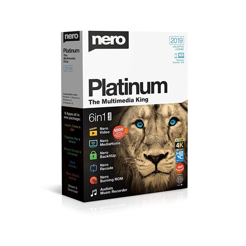 Nero 2019 Platinum Edition Box