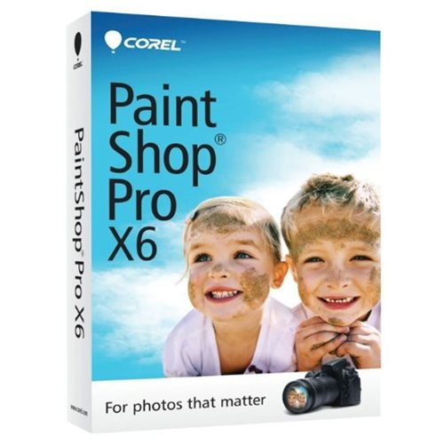 Corel PaintShop Pro X6 Inglês Windows