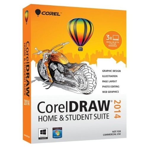 Corel Draw 2014 Home and Student Português Windows